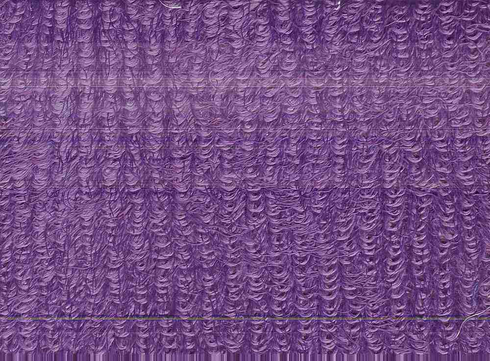 90896-1000 / #800PLUM / 100% POLYESTER Poodle
