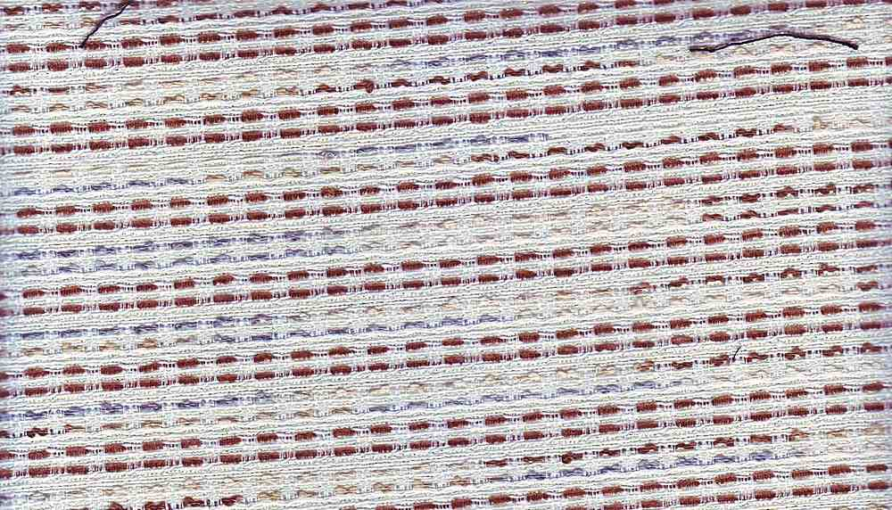 90840-1000 / #150IVO/BRN/GRY / 52/30/18 COTTON POLY ACRYLIC BOUCLE