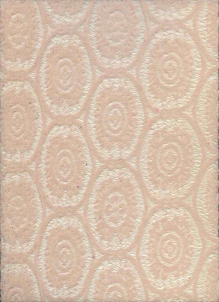 90894-67822MD3 / #551TAUPE / 70/30POLY NYLON MEDALLION LACY KNIT