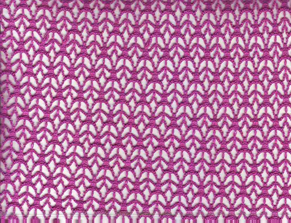 90932-1000 / #888 ORCHID / 100% POLY CROCHET