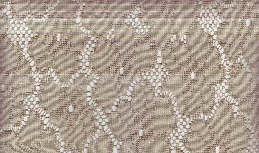 90951-1000 / #555 TAUPE / 100% POLYESTER KNIT LACE