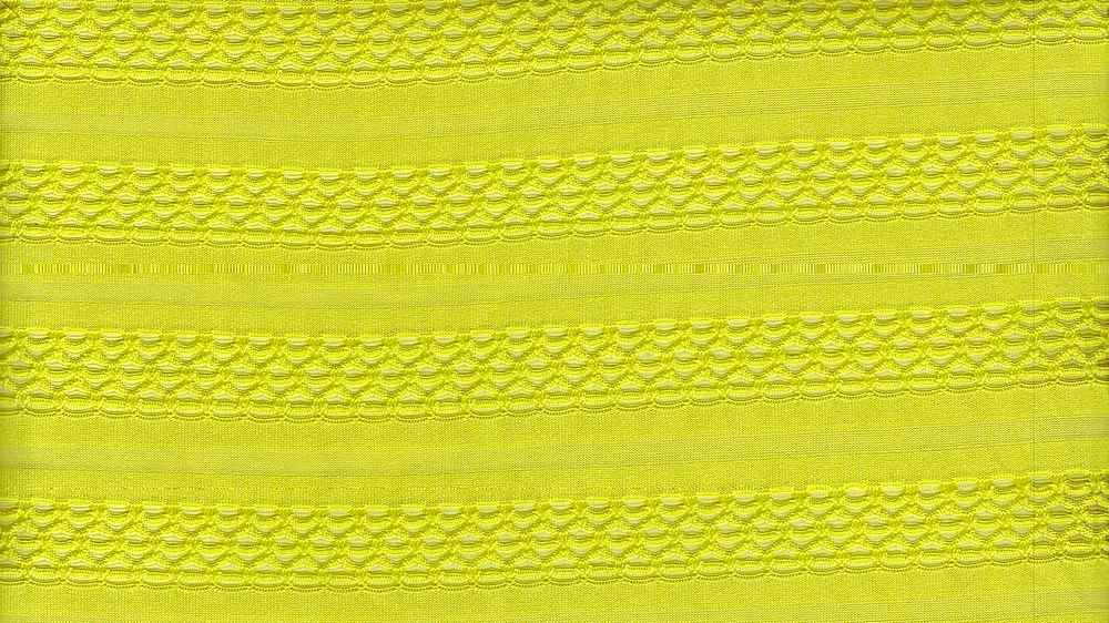 91051-1000 / #333LIME / 95%POLY 5%SPAN HALLEY KNIT