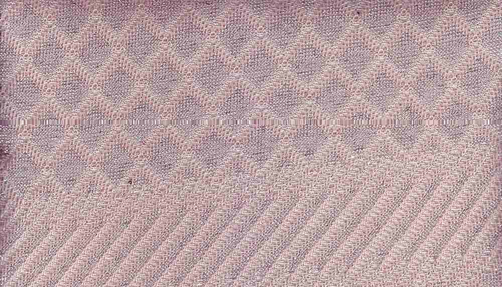 91074-1000 / #441BLUSH/SIL / 59%POLY27%RAYON8%NYLON6%METALLIC HOLIDAY KNIT JACQ