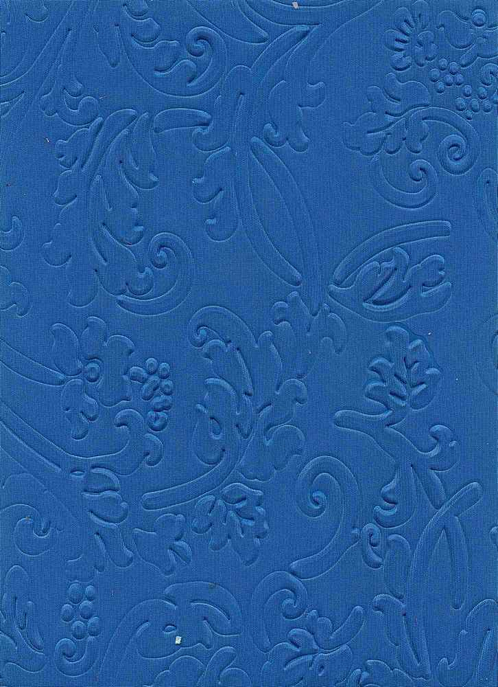 91098-1000 / #222BLUE / 90%POLY 10%SPANDEX TECHNO EMBOSSING