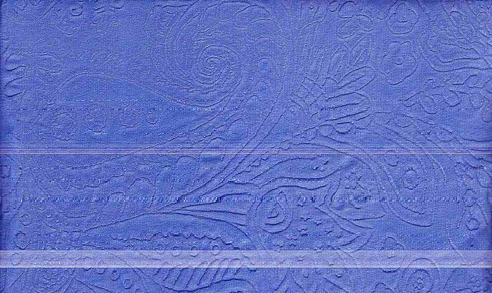 91104-1000 / #222CHINA BLUE / 100% POLY EMBOSSED HMC