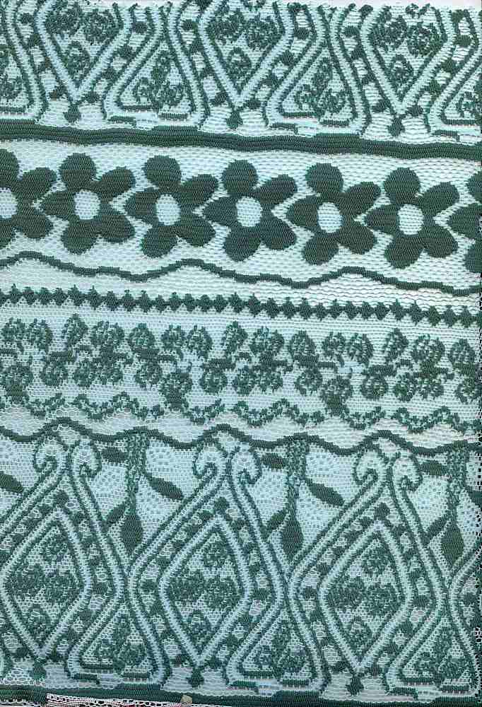 91236-1000 / #333MINT/GREEN / 100% POLYESTER LACE JACQUARD