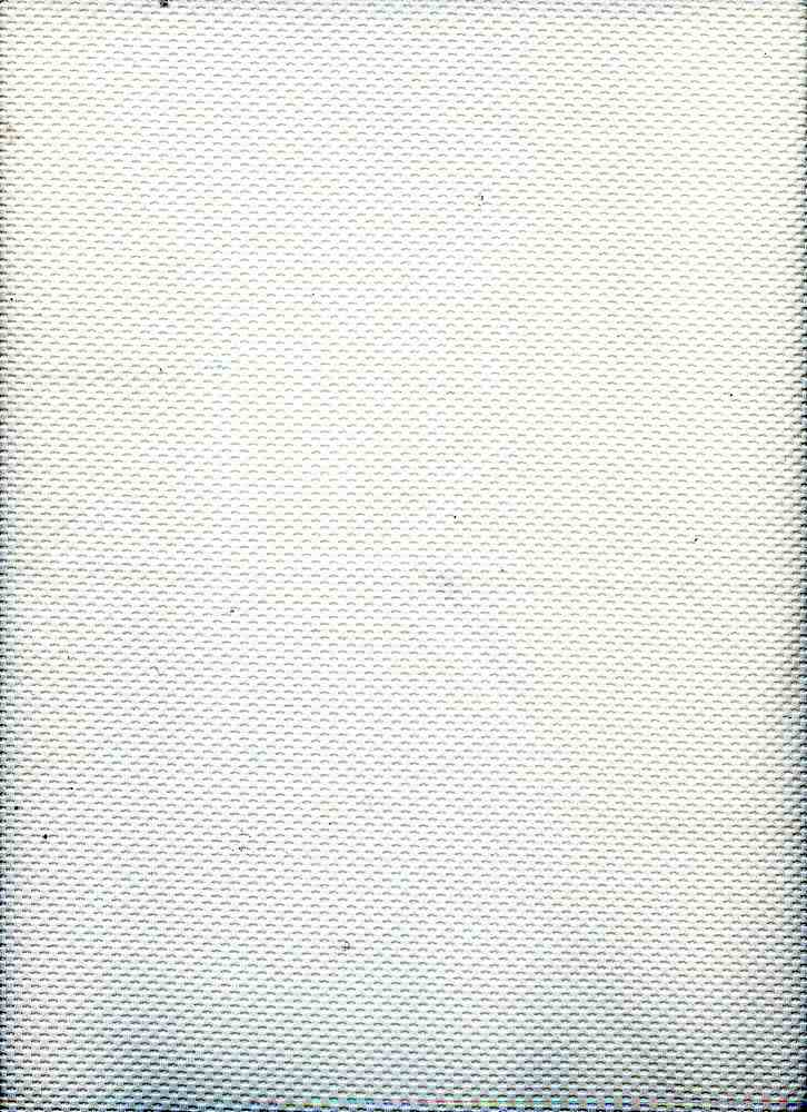 91261-1000 / #111WHITE / 95/5 POLY SPAN LIGHT WEIGHT KNIT PIQUE