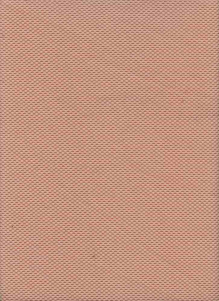 91261-1000 / #555TAUPE / 95/5 POLY SPAN LIGHT WEIGHT KNIT PIQUE