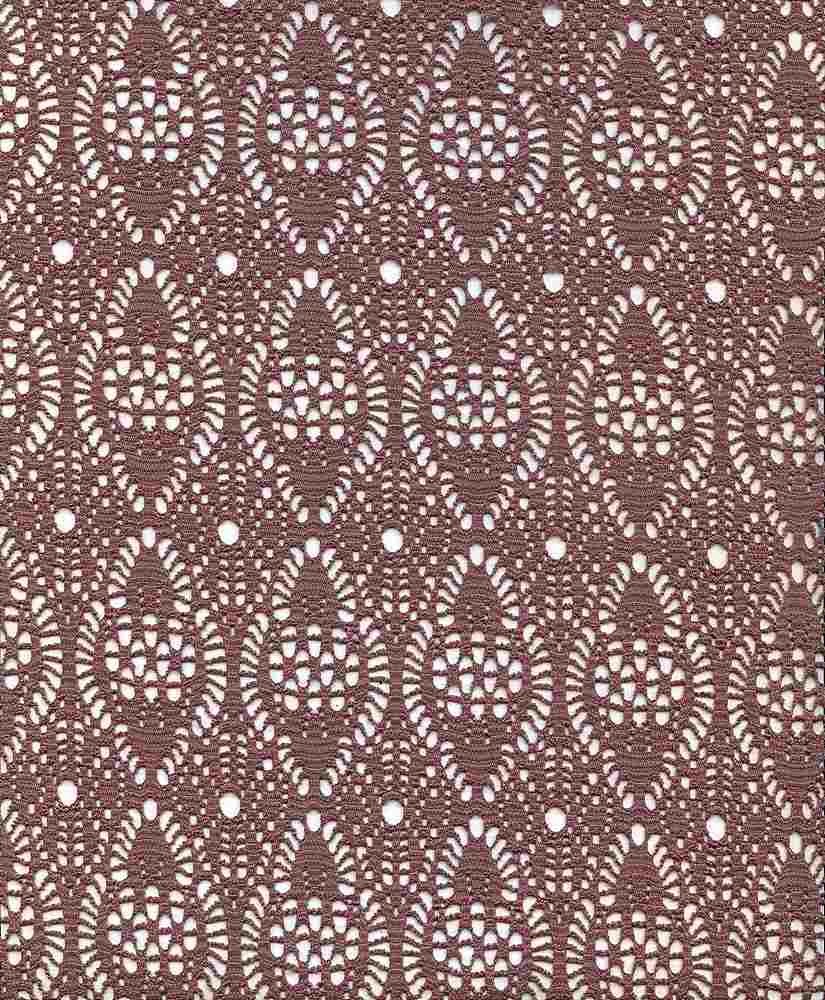 91264-1000 / #555TAUPE / 96%POLYESTER 4%SPANDEX CHRISSY CROCHET