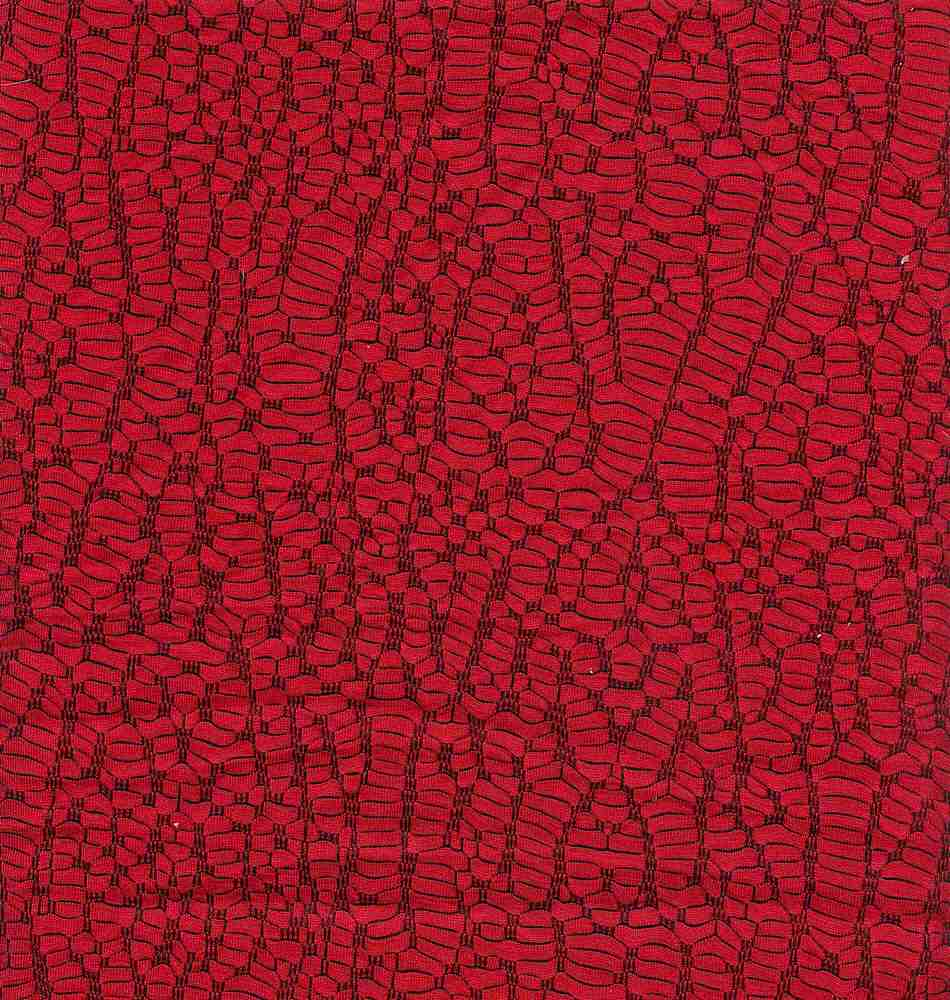 91270-1000 / #440 RED/BLK / 80%RAYON 17%POLY 3%SPANDEX
