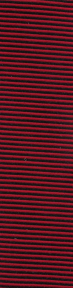 91338-1000 / #004BLK/RED / 85%POLY 10%RAYON 5%SPANDEX TWO COLOR OTTOMAN