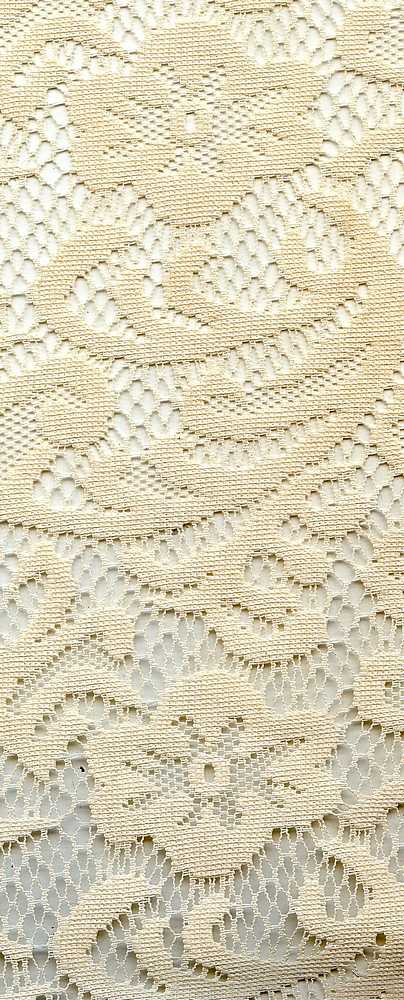 91361-1000 / #111IVORY / 100% POLY LACE