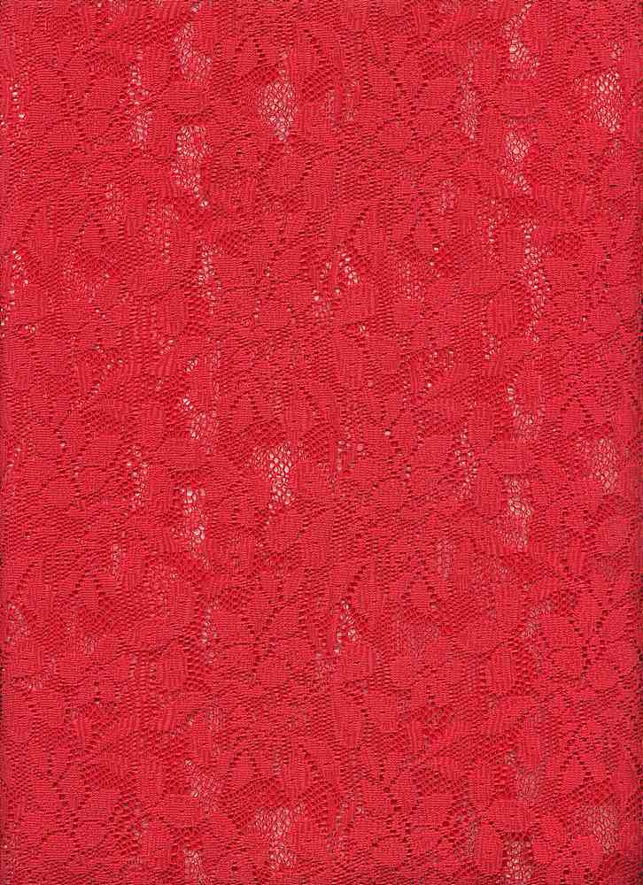 76338-1000 / #444STRAWBERRY / DALIAH LACE 100%POLY   145G/Y 59/60""