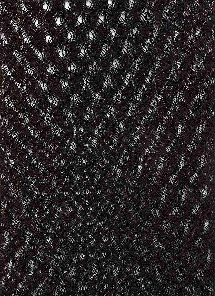 "76370-1000 / #000BLACK / EASY WAVE CROCHET 100%POLYESTER 61/63"" 104GSM"