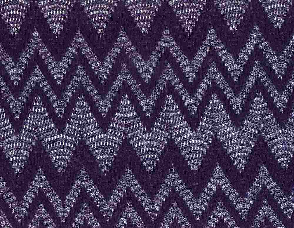 91320-1000 / #222NAVY / 100% POLYESTER SHEAR MISSONI SWEATER