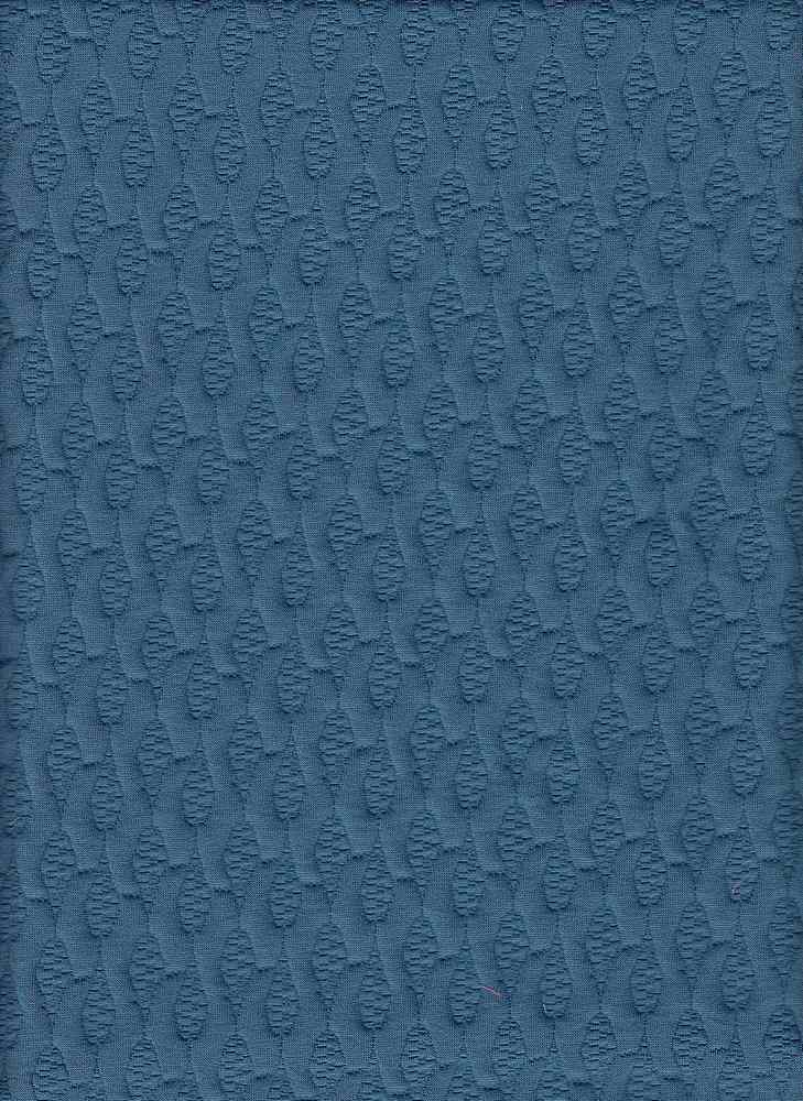 """76538-1000 / #222DK SLATE / BAMBOO TEXTURE KNT JAQ 97/3 POLY SPAN 260GSM 61/63"""""""