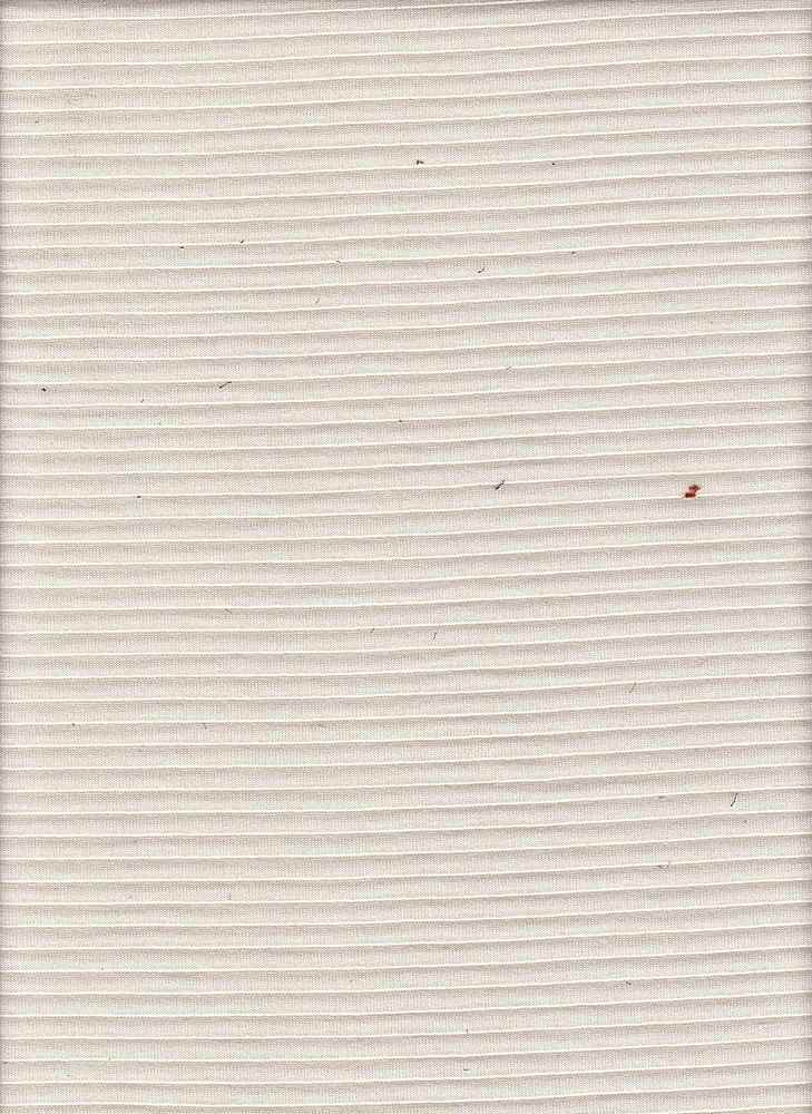 """76541-1100 / #555NATURAL / QUILTED OTTOMAN 73/27 POLY RAYON 255GSM 67/68"""""""
