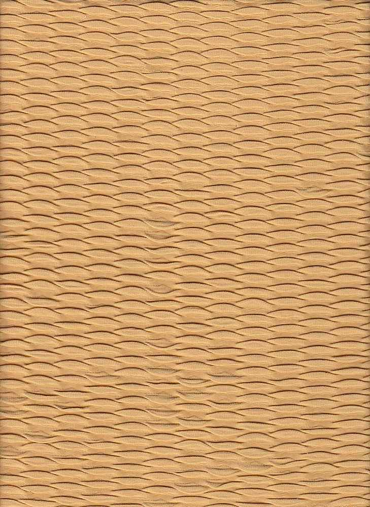 """76570-1000 / #777GOLDEN / FOLD OVER WAVE KNIT 100%POLY 60"""" 225GSM"""