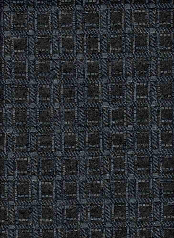 91487-1100 / #006VINTAGE TEAL / WICKSTITCH CHECK WOVEN 57/40/3CTN PLY SPN 235GSM