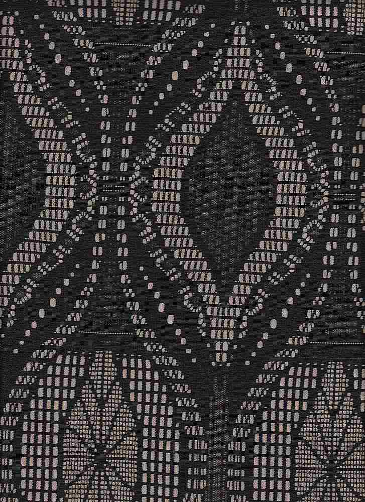 """76738-1100 / #000BLACK / HOURGLASS BONDED LACE  94/6 POLY SPAN 200GSM 56/57"""""""