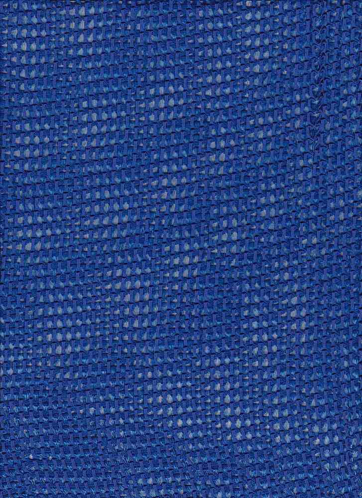76756-1000 / #222NEO BLUE / WINDOW MESH 100% POLY   195GSM 58/59""
