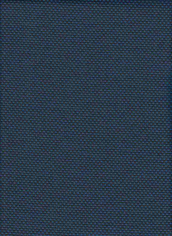 76761-1100 / #222NEO BLUE / 2TONE WESTWOOD PIQUE 96/4 POLY SPAN 58/60  280GSM