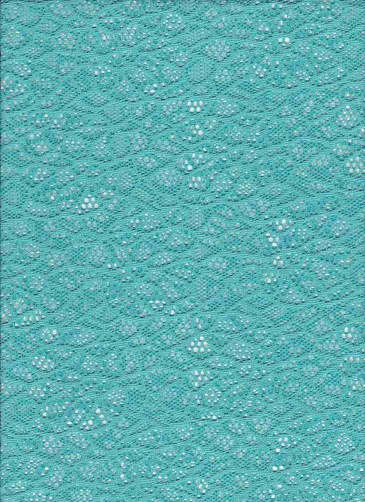 """76821-1100 / #333MINT / THELMA LACE 100% POLY 74GSM 57/58"""""""