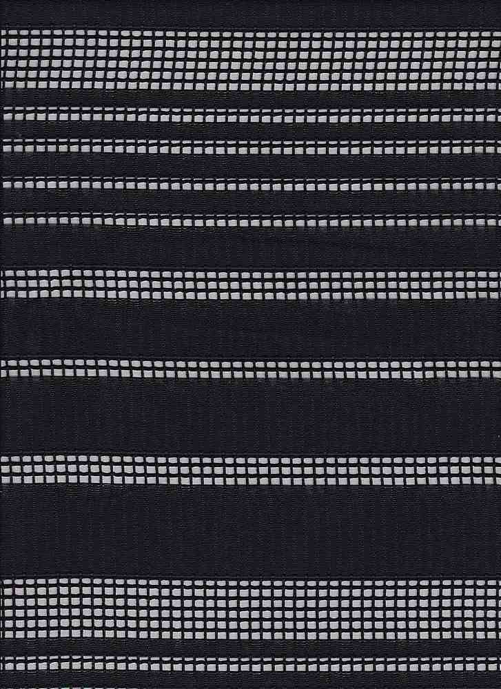 """91512-1000 / #000BLACK / SHADOW CHECK VARIEGATED WOVEN 100%POLY 58"""" 145GSM"""