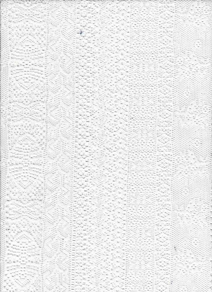 """76846-1100 / #111OFFWHITE / DELICATE STRIPE STRETCH LACE 92/8POLY SPAN 60""""60GSM"""