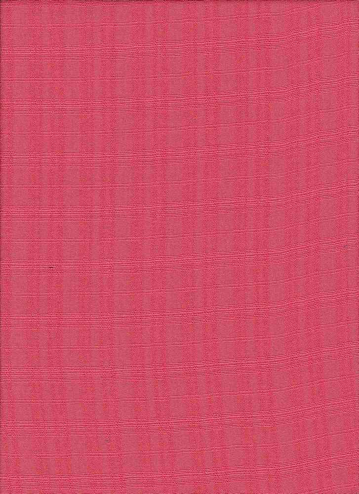 1438-1000 / #999MELON / WILLOW CHALLIS SOLID 100%RAYON 54/55  90GSM
