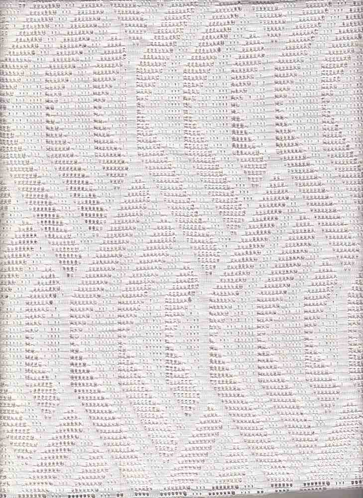 """76871-1000 / #111WHITE / THIS WAY CROCHET 96/4 POLY SPAN 58/59"""" 150GSM"""