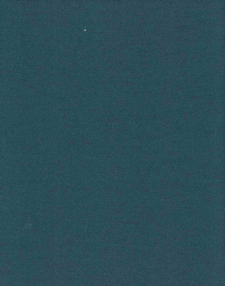 """6586-1000 / #666LT TEAL / CREPE SCUBA SOLID 95%POLY 5%SPAN 230GSM 58/59"""""""