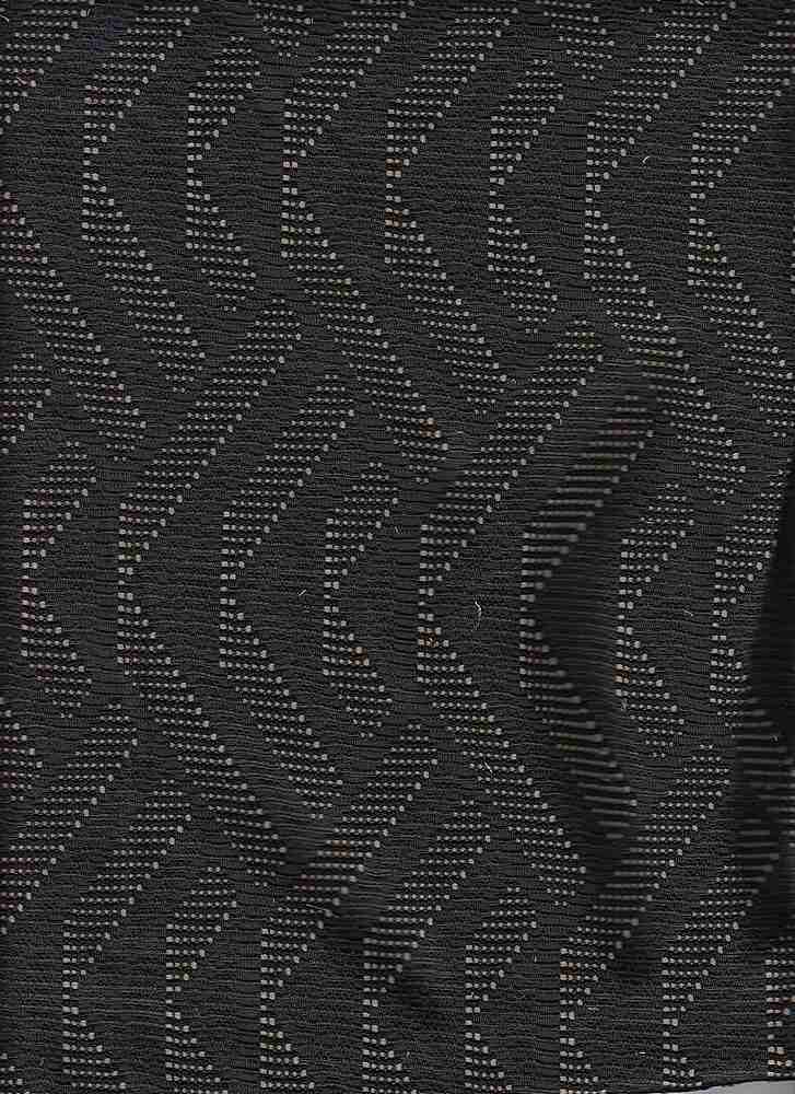 """76931-1000 / #000BLACK / THIS WAY BONDED CROCHET 96/4POLY SPAN 290GSM 53/54"""""""