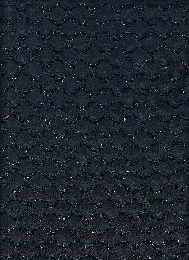 """91554-1000 / #222MIDNIGHT / WAVE LUREX WOVEN 97/3 POLY SPAN 140GSM 60"""""""