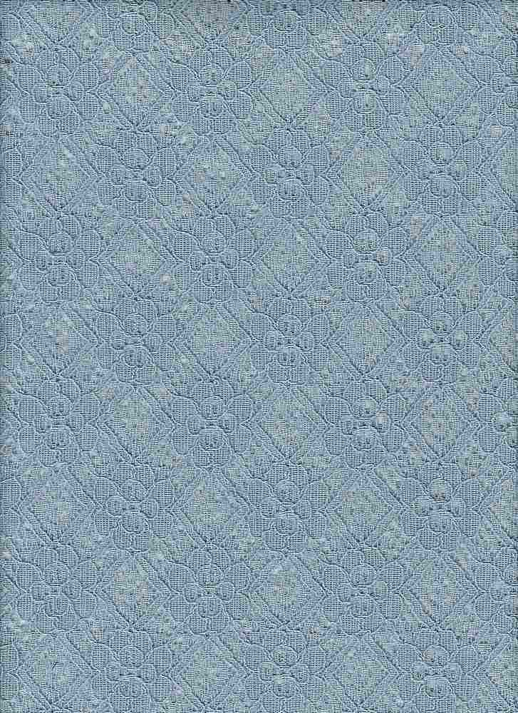 85111-1000 / #222WASHED DENIM / CARINA LACE 65/35 COTTON NYLON 97GSM 57""