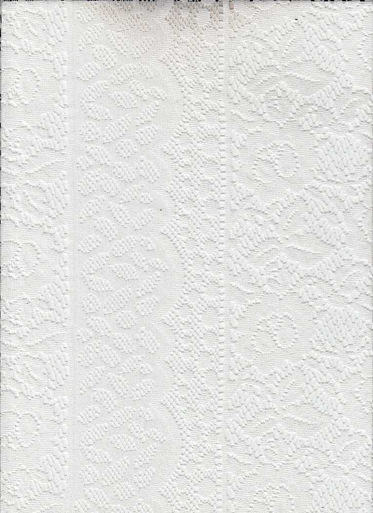 95019-1100 / #111WHITE / Cheetah Fog Foil Lace 100%Nylon 73gsm 56/57""