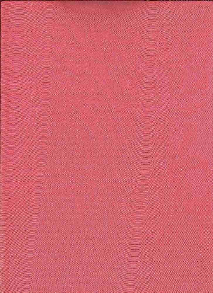 """95018-1000F / #999CORAL / SILKY CHIFFON 3D WITH FOIL 100%POLY 55/56"""" 40GSM"""