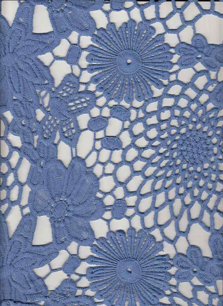 "95066-1100DB / #222SWEET PERI / BOUQUET CHEMICAL LACE  100%Poly 46"" 205gsm"