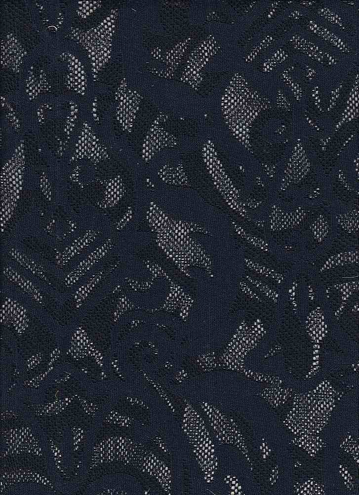 """95110-88013MD / #222RETRO NAVY / CHELSEA LACE 95/5 POLY SPAN 57"""" 99GSM"""