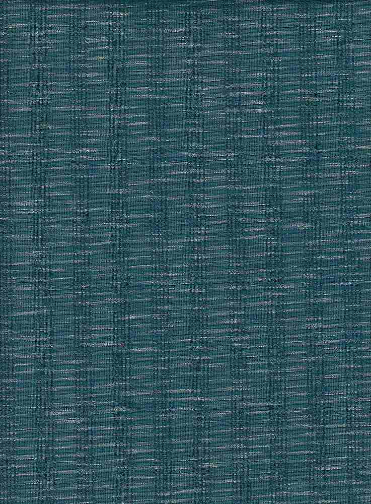 85280-1000 / #666TEAL / CHALK RIB KNIT 82/13/5 PLY RYN SPN 190GSM 62""