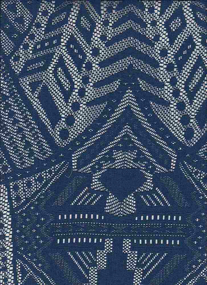 """95276-88204MD / #222ISLAND NAVY / CHRYSTLER LACE  90/10 POLY SPAN 125GSM 57"""""""
