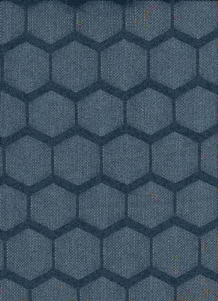 85353-1100 / #222VINTAGE NAVY / HONEYCOMB LACE 92/8POLY SPAN 120GSM 59""