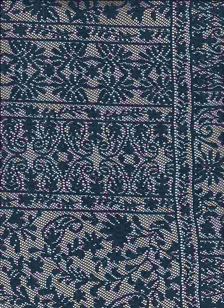 """85357-88251MD / #222NAVY / SHERENE PATCH LACE 100%POLY 100GSM 56/57"""""""