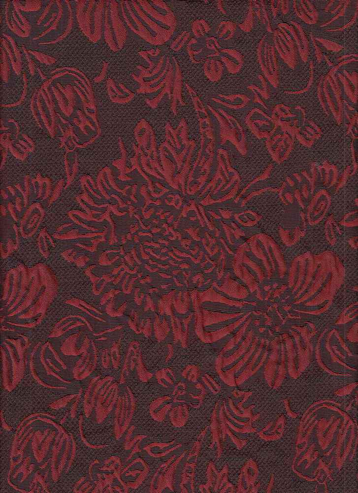 """95424-1000 / #444RED / Fete Woven Jaquard 100%Poly 180gsm 50"""""""