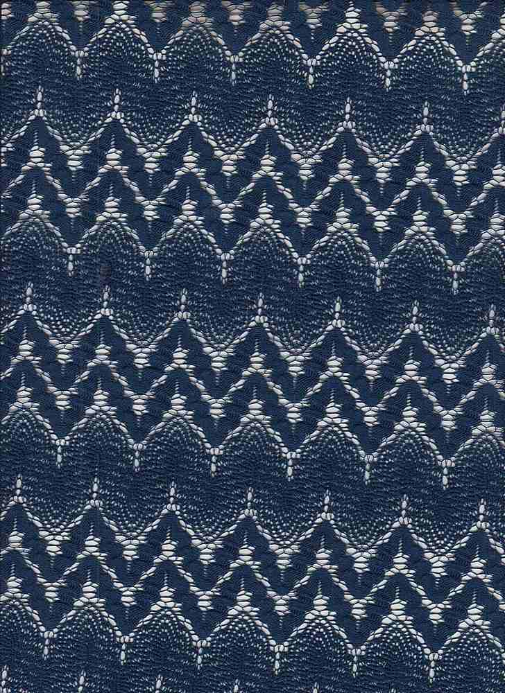 85531-1000 / #222NAVY / KAUAI MISSONI CROCHET 100% POLY 195GSM 48""