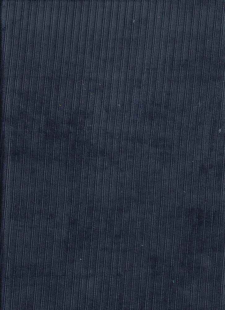 85660-1100 / #222NAVY / Variegated Knt Corduroy 100%Poly 270gsm 58""