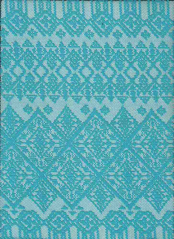 """85708-88453 / #333FROSTED JADE / Coast Stripe Lace 100% Poly 100gsm 56/57"""""""