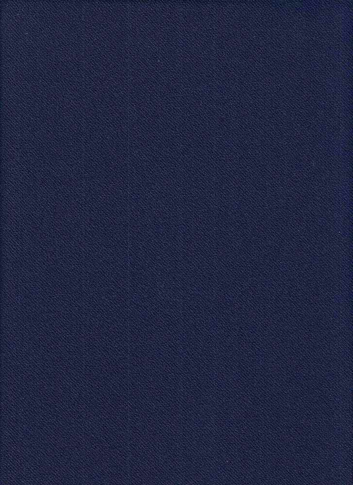 85714-1000 / #222NAVY / SCUBA CREPE TWILL 95/5 POLY SPAN 240GSM 58""